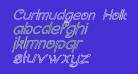Curlmudgeon Hollow Italic
