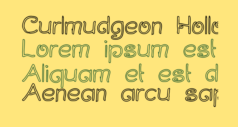 Curlmudgeon Hollow