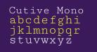 Cutive Mono