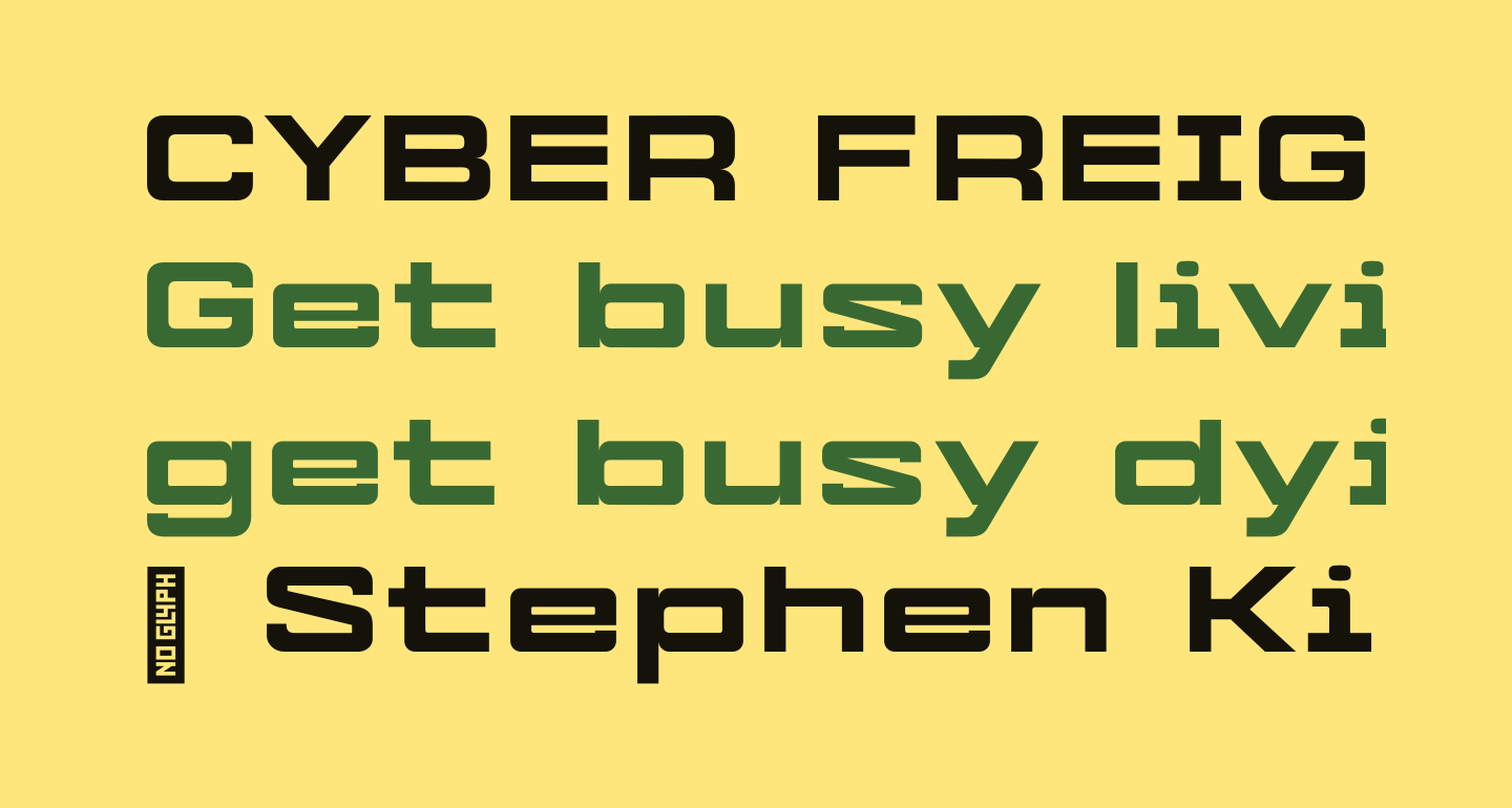 CYBER FREIGHT Normal