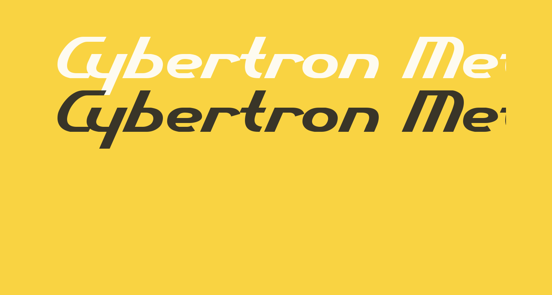 Cybertron Metals  Normal