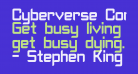Cyberverse Condensed