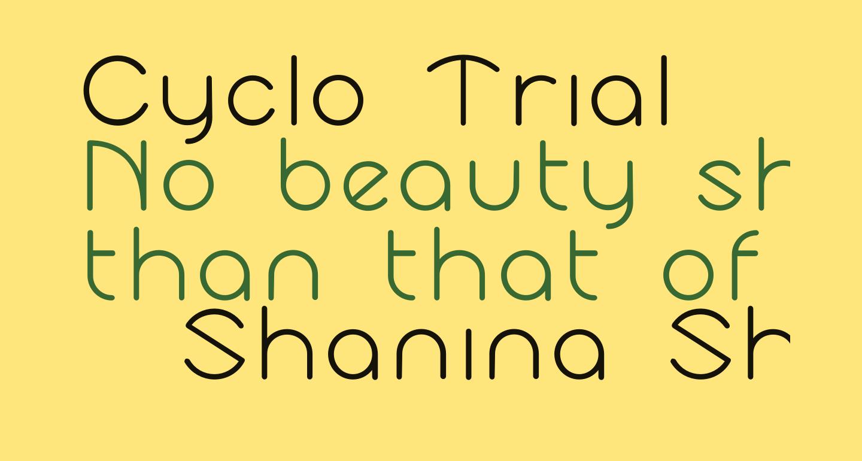 Cyclo Trial