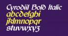 Cyrodiil Bold Italic