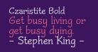 Czaristite Bold