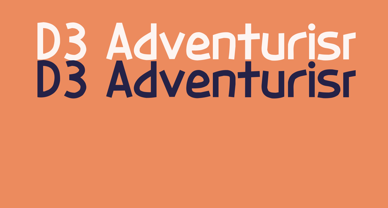 D3 Adventurism