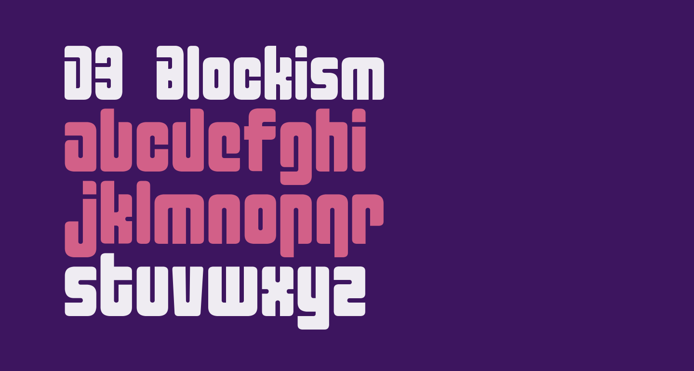 D3 Blockism