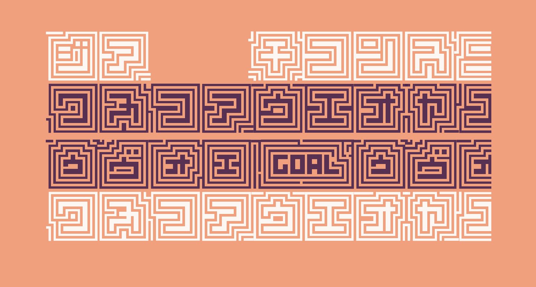 D3 Labyrinthism katakana