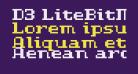 D3 LiteBitMapism Bold-Selif