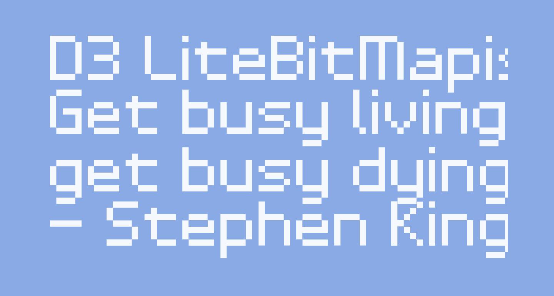 D3 LiteBitMapism