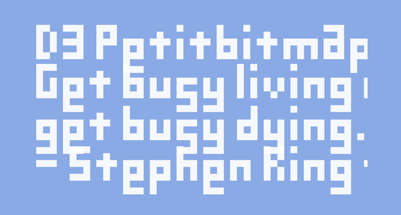 D3 Petitbitmapism