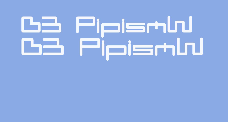 D3 PipismW
