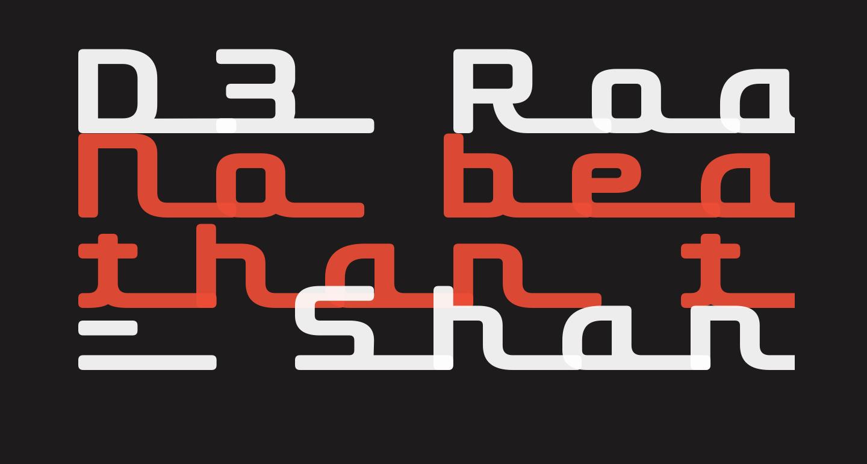 D3 Roadsterism Long