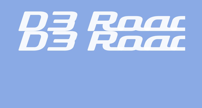 D3 Roadsterism Wide Italic