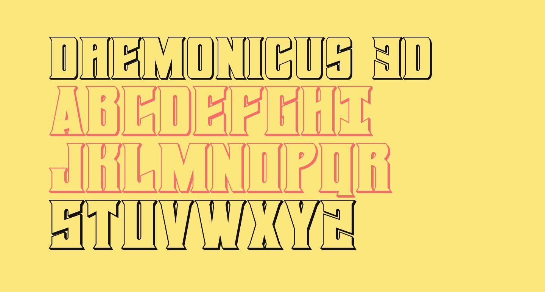 Daemonicus 3D
