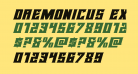 Daemonicus Expanded Italic