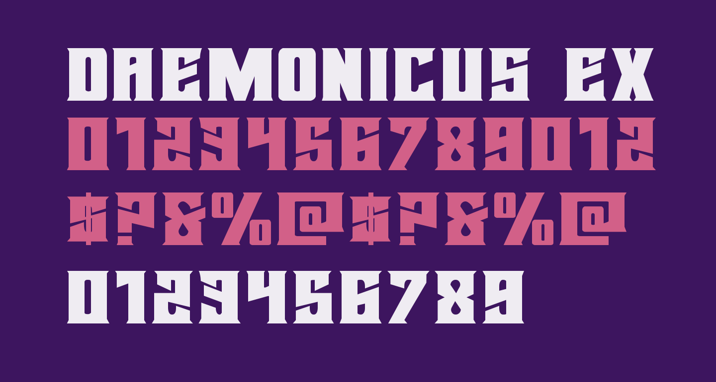 Daemonicus Expanded