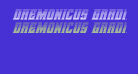 Daemonicus Gradient Italic
