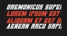 Daemonicus Super-Italic