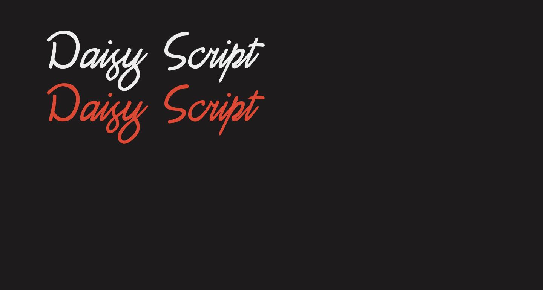 Daisy Script
