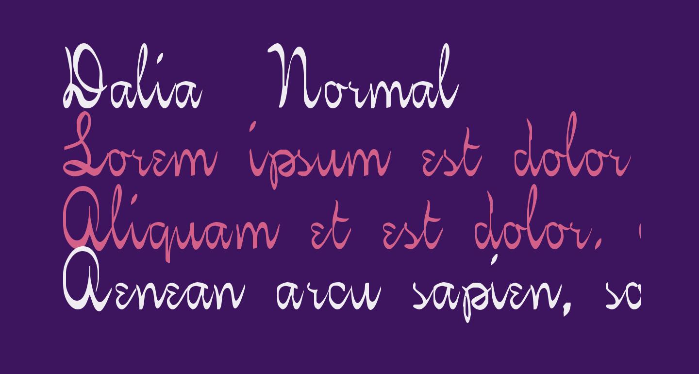 Dalia  Normal