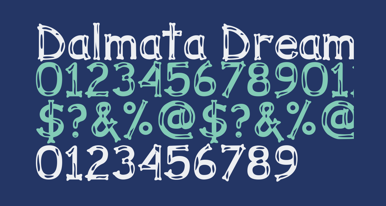 Dalmata Dream Bold