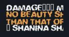Damage!' Maim