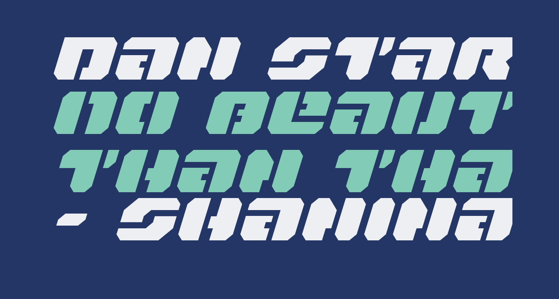 Dan Stargate Expanded Italic