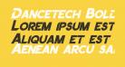 Dancetech Bold Italic