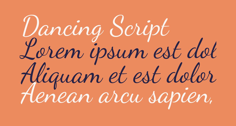 Dancing Script