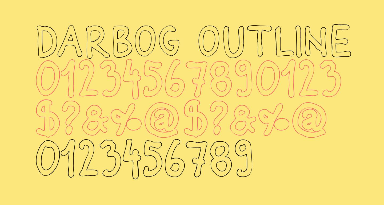 Darbog outline Bold