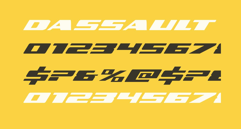 Dassault Expanded Italic