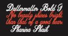Dattermatter Bold Persoinal Use Regular