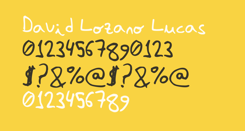David Lozano Lucas