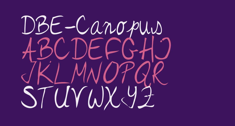 DBE-Canopus