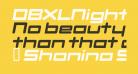 DBXLNightfever UltraWideItalic