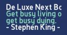 De Luxe Next Bold
