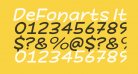 DeFonarts Italic