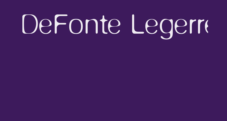 DeFonte-Legerreduit