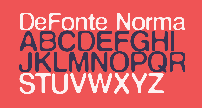 DeFonte-Normalereduit