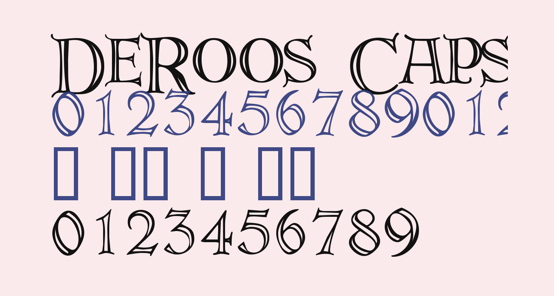 DeRoos Caps