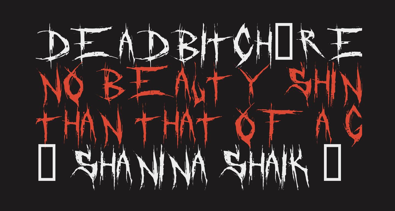 DeadBitch-Regular