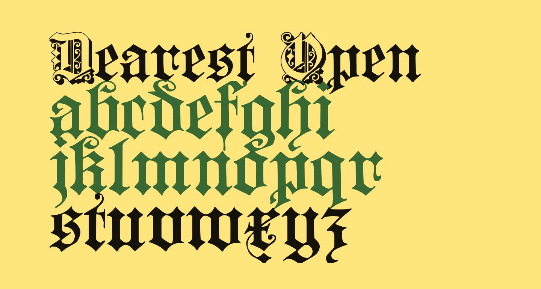Dearest Open
