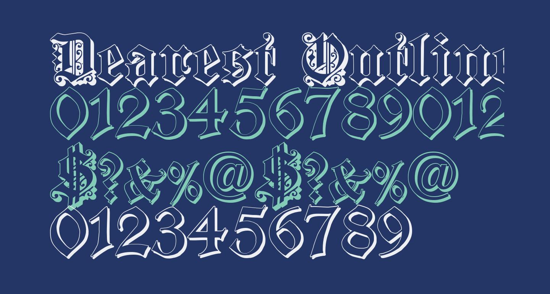 Dearest Outline