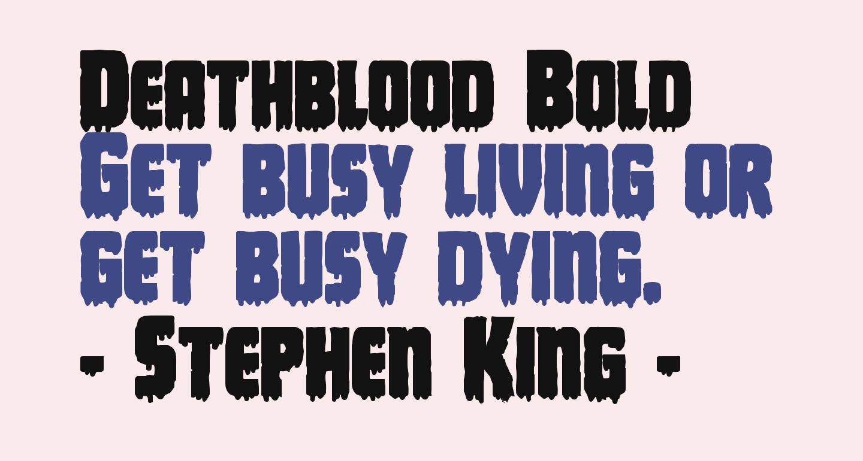 Deathblood Bold