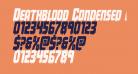 Deathblood Condensed Italic