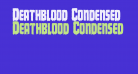 Deathblood Condensed