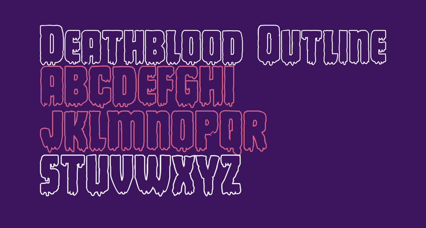 Deathblood Outline