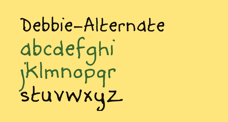 Debbie-Alternate