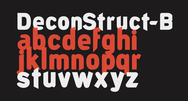 DeconStruct-Black